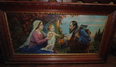 14C24485 LARGE HOLY FAMILY PICTURE