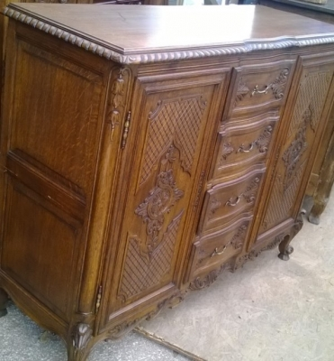 15A23004 SMALL LOUIS XV CARVED 4 DRAWER SERVER (2).jpg