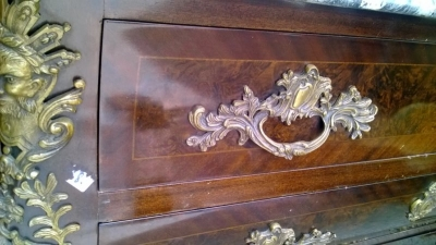15A23005 GREY MARBLE TOP LOUIS XV BOMBE COMMODE (5).jpg