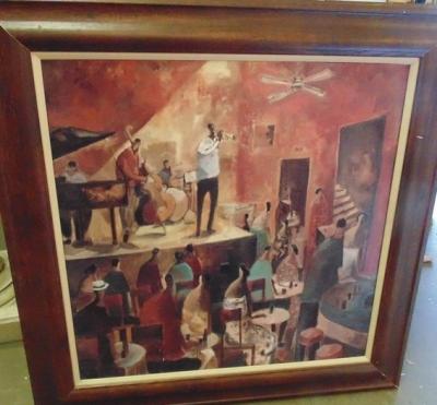 14C24253 PRINT OF BLACK AMERICAN MUSICIANS