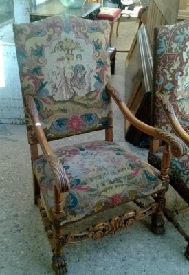 15B06032 PAIR OF NEEDLEPOINT FAUTEUIL CHAIRS  (4).jpg