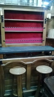 15B06040 SLATE TOP BAR WITH 2 STOOLS AND BACKBAR  (1).jpg