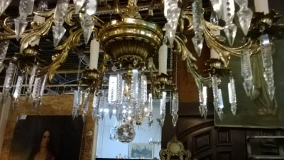 BRONZE CHANDELIER WITH PRISMS (3).jpg