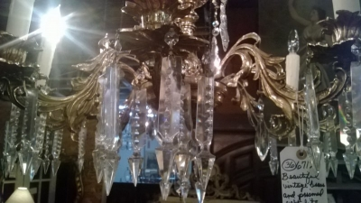 36-67179 BRONZE AND CRYSTAL CHANDELIER  (3).jpg