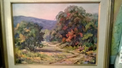 36-85124 OIL ON BOARD AUTUMN LANDSCAPE.jpg