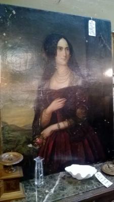 36-85140 ANTIQUE PORTRAIT OF A LADY (1).jpg