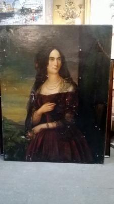 36-85140 ANTIQUE PORTRAIT OF A LADY (3).jpg