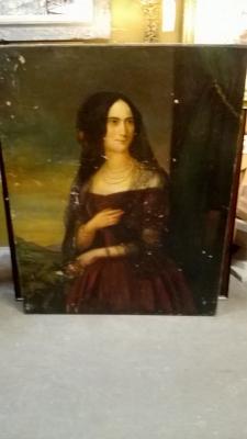 36-85140 ANTIQUE PORTRAIT OF A LADY (4).jpg