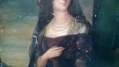36-85140 ANTIQUE PORTRAIT OF A LADY (5).jpg
