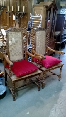 36-85239 PAIR OF BARLEY TWIST CANED ARM CHAIRS (1).jpg