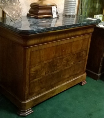 36-85320 LOUIS PHILIPPE MARBLE TOP CHEST (1).jpg