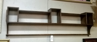 15B21200 LONG ANTIQUE WALL SHELF .jpg