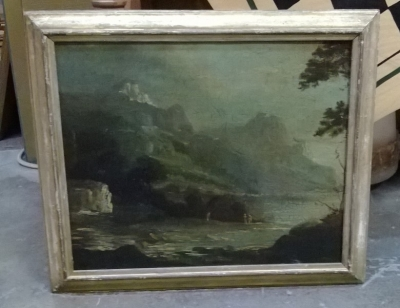 36-85334 ANTIQUE LANDSCAPE OIL.jpg