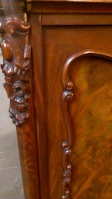 15C03032  MAHOGANY GLASS DOOR CABINET   (17).jpg