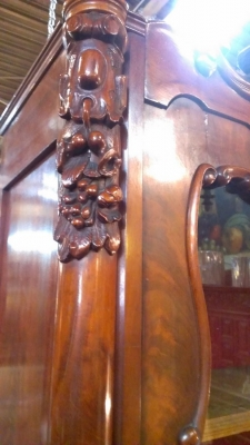 15C03032  MAHOGANY GLASS DOOR CABINET   (19).jpg
