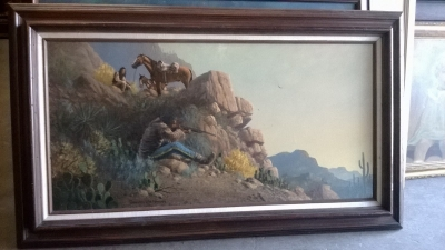 FRAMED WESTERN OIL PAINTING (1).jpg