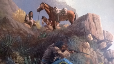 FRAMED WESTERN OIL PAINTING (2).jpg