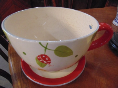14C24715 TEACUP LARGE PLANTER