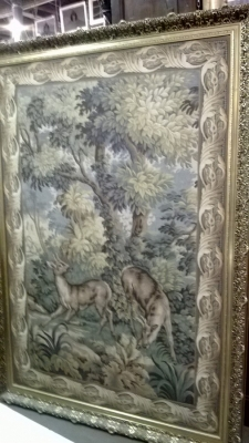 15C14100 LARGE FRAMED TAPESTRY WITH DEER (1).jpg