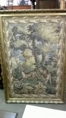 15C14100 LARGE FRAMED TAPESTRY WITH DEER (2).jpg
