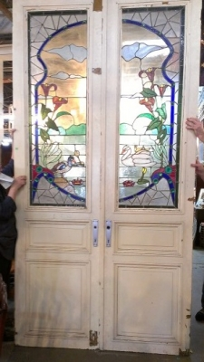 FABULOUS PAIR OF TALL STAINED GLASS DOORS (1).jpg