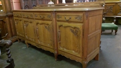 LOUIS XV 4 DOOR OAK SIDEBOARD (1).jpg