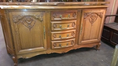 LOUIS XV OAK SIDEBOARD WITH CENTER DRAWERS  (1).jpg
