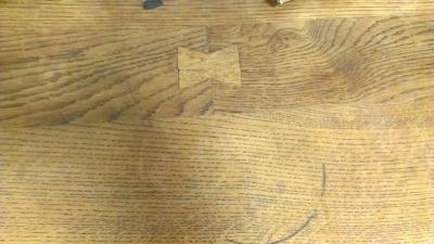 OAK TURNED LEG TABLE WITH DRAWER (3).jpg