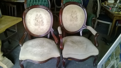 PAIR OF TAPESTRY BACK ARM CHAIRS (2).jpg