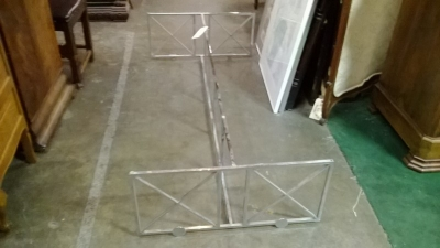 36-CHROME MIDCENTURY COFFEE TABLE BASE.jpg