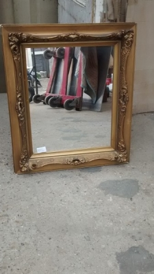 15D22108 VICTORIAN GOLD FRAMED MIRROR (1).jpg