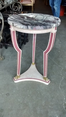 15D23602 ROUND MARBLE TOP TABORET (2).jpg