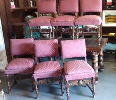 15E04407 SET OF 6 BARLEY TWIST CHAIRS WITH ANGEL DETAIL (2).jpg