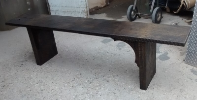 GRP BENCH MADE FROM ROUGH HEWN PLANKS (1).jpg
