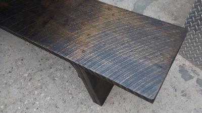 GRP BENCH MADE FROM ROUGH HEWN PLANKS (2).jpg