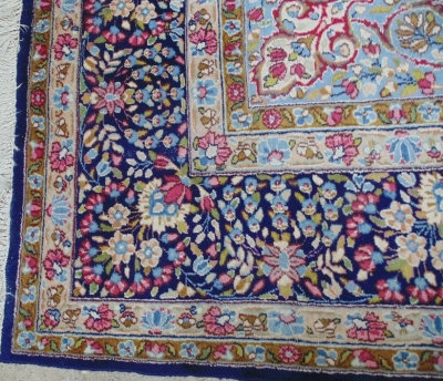 14D02005 LARGE HAND WOVEN RUG 12FEET X 9 FT 3 INCHES DETAIL (2)