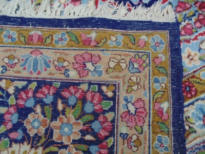 14D02005 LARGE HAND WOVEN RUG 12FEET X 9 FT 3 INCHES DETAIL (1)