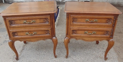 14D02006 PAIR OF LOUIS XV NIGHT STANDS  (1)