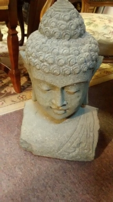15E11505 VOLCANIC GREEN STONE BUDDHA CARVED HEAD (1).jpg