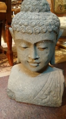 15E11505 VOLCANIC GREEN STONE BUDDHA CARVED HEAD (2).jpg