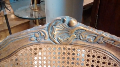 15E12006 LOUIS XV  STYLE GOLD BERGERE CHAIR NOT VERY OLD (2).jpg