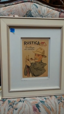 15E12017  FRENCH 1947 FRAMED PRINT RUSTICA.jpg