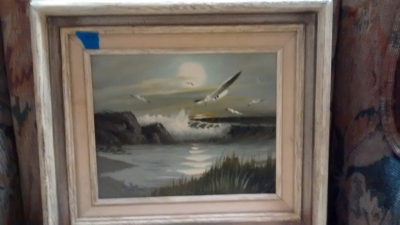 15E12037 SMALL SEA GULL OIL PAINTING.jpg