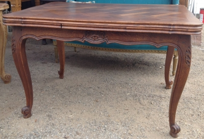 14C06016 DRAW LEAF FRENCH DINING TABLE.JPG