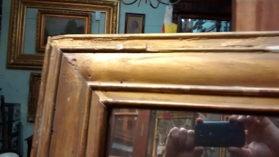 15E19017 19TH CENTURY GILT MIRR 49 X 56 (2).jpg