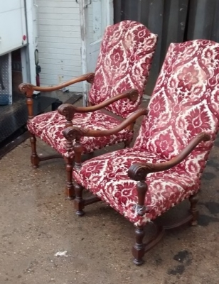 15E19204-5 TWO LOUIS XIII ARM CHAIRS (2).jpg