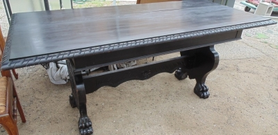 14D02013 TTALIAN TRESTLE BASE TABLE