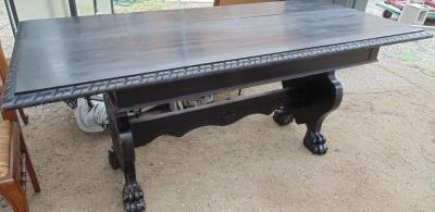 14D02013 TTALIAN TRESTLE BASE TABLE
