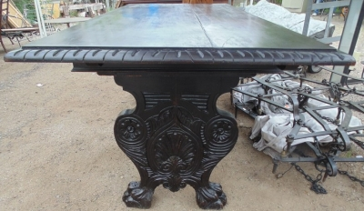 14D02013 TTALIAN TRESTLE BASE TABLE  DETAIL (2)