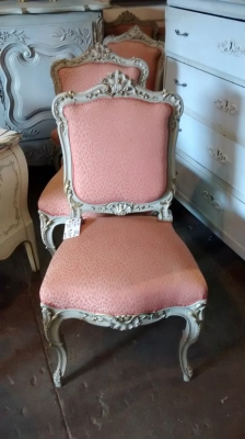 15E19156 SET OF 4 LOUIS XV PAINTED CHAIRS (2).jpg